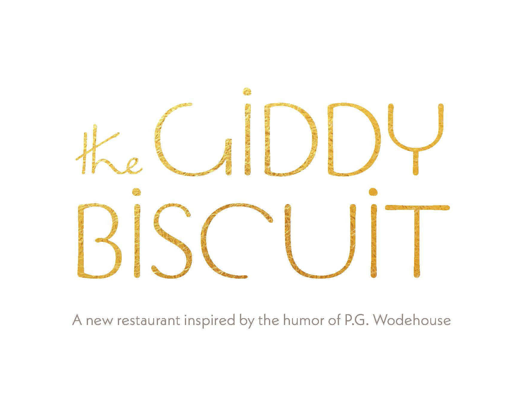 Logo for the Giddy Biscuit restaurant